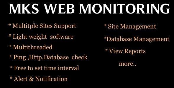 MKS WEB MONITOR - CodeCanyon Item for Sale