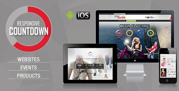 CountDown Pro for WebSites/Events/Products Launch - CodeCanyon Item for Sale