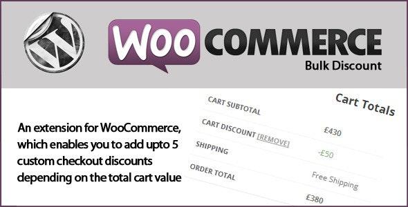 WooCommerce Bulk Discounts - CodeCanyon Item for Sale