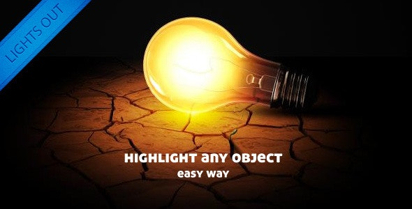 Lights Out / Objects Highlighter - CodeCanyon Item for Sale