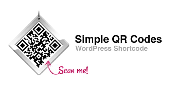 Simple QR Codes - WordPress Shortcode