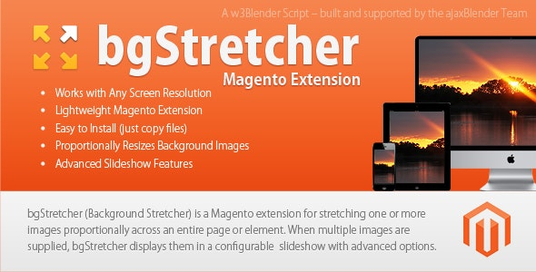 bgStretcher Magento BG Image Resizer & Slideshow - CodeCanyon Item for Sale
