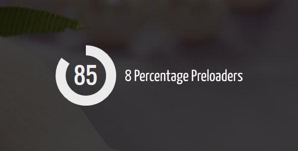 Percentage Preloader - CodeCanyon Item for Sale
