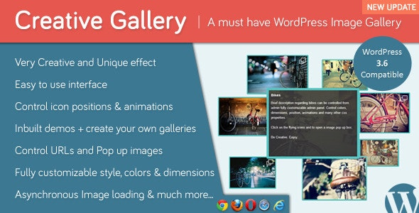 Creative Gallery - CodeCanyon Item for Sale