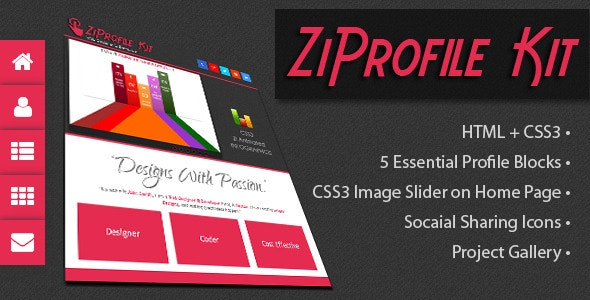ZiProfile Kit - CodeCanyon Item for Sale