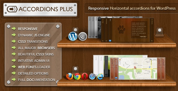Accordions Plus for WordPress - CodeCanyon Item for Sale
