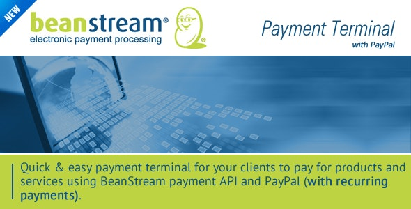 BeanStream Payment Terminal - CodeCanyon Item for Sale