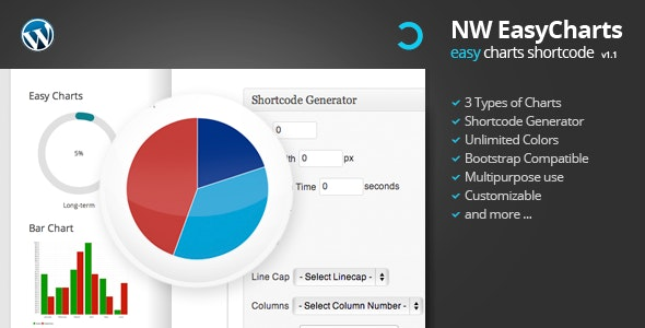 Easy Charts Grid Shortcode for WordPress - CodeCanyon Item for Sale
