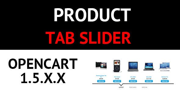 Product Tab Slider Opencart
