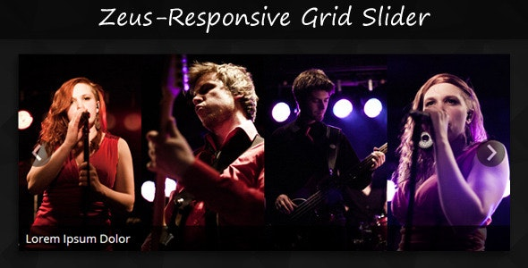 ZEUS - Responsive Jquery & CSS3 Grid Slider - CodeCanyon Item for Sale