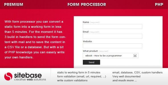 Form Processor