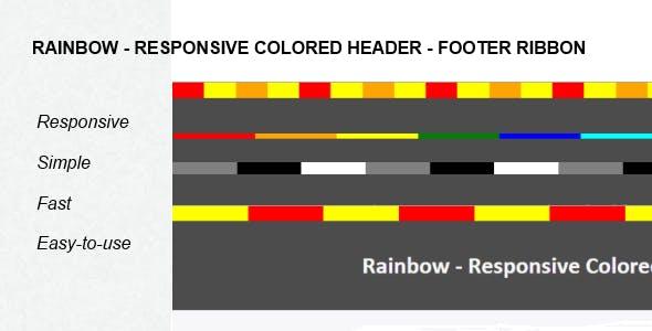 Rainbow - Responsive Colored Ribbon For Wordpress
