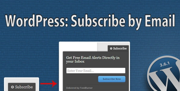 Subscribe by Email Plugin for WordPress - CodeCanyon Item for Sale