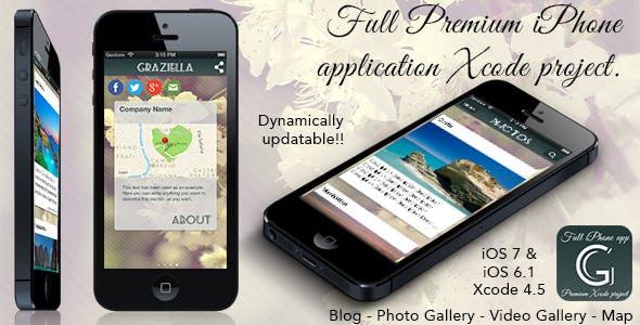 Graziella - Full Premium iPhone App