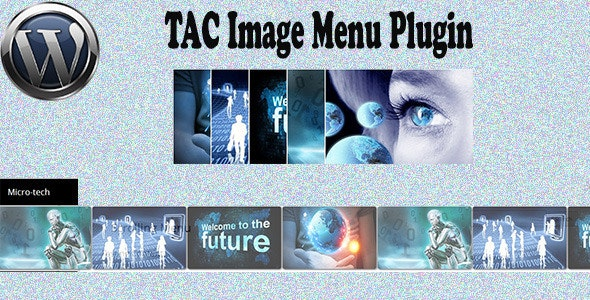 TAC Image Menu Plugin - CodeCanyon Item for Sale