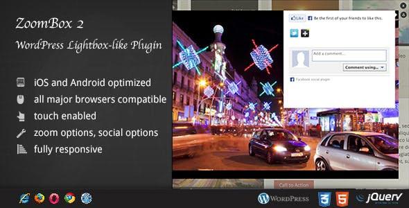 ZoomBox 2 WordPress Plugin DZS - Creative Lightbox