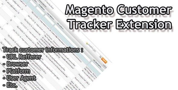Magento Customer Tracker