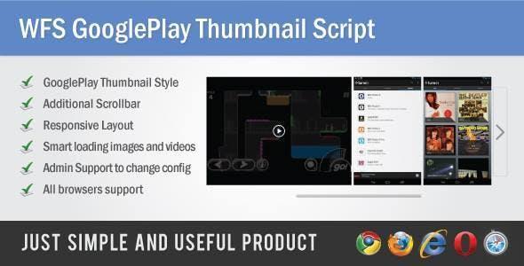 WFS GooglePlay Thumbnail Script