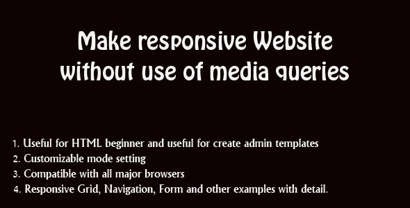Easy Responsive CSS - CodeCanyon Item for Sale