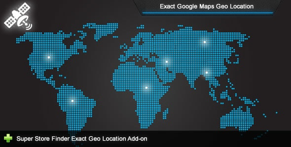 Super Store Finder - Exact Geo Location Add-on - CodeCanyon Item for Sale