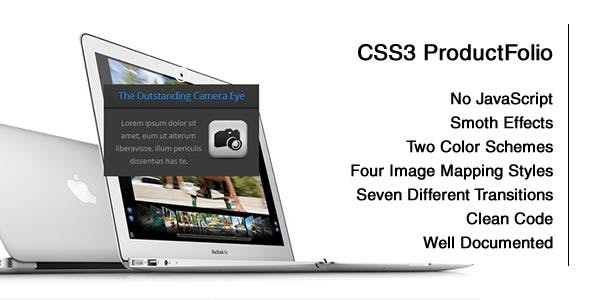 CSS3 Product-Folio with Image Mapping