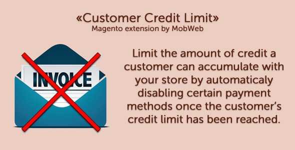 Customer Credit Limit - CodeCanyon Item for Sale