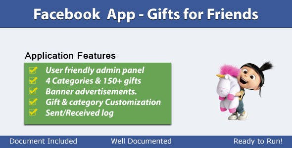 Gifts for Friends - Facebook Application