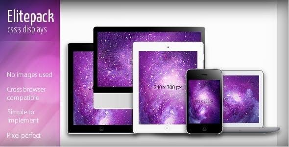 Elitepack CSS3 Display Screens