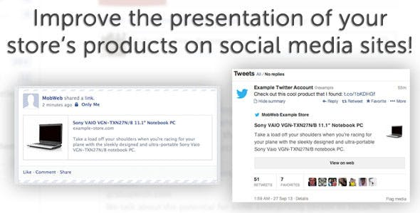 Improved Social Media Presentation