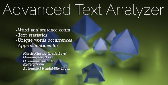 Advanced Text Analyzer
