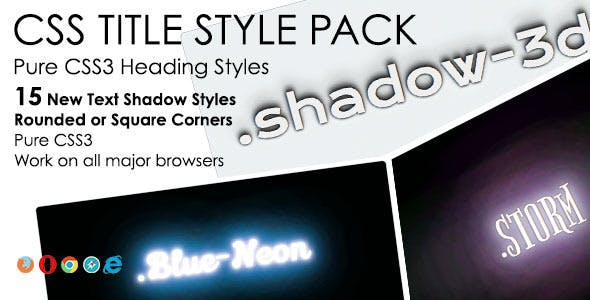 Heading Styles Pack