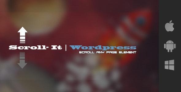 Scroll-It For Wordpress