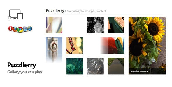 Puzzllerry - interactive gallery plugin