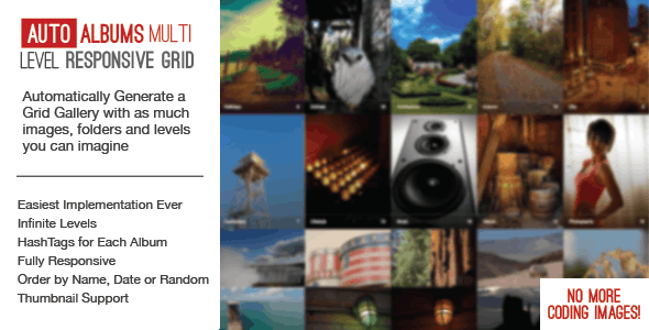 Auto Photo Albums – Multi Level Image Grid