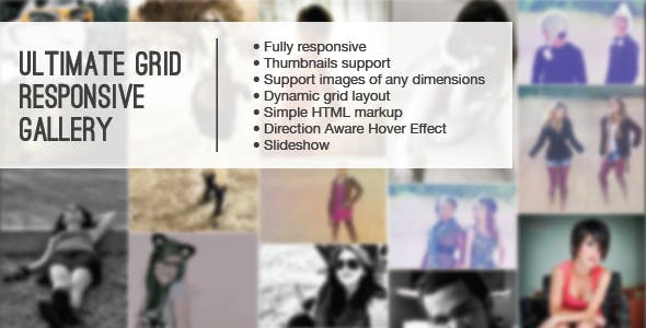 Ultimate Grid Responsive Gallery