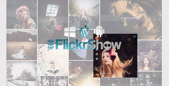FlickrShow 2.0 For Wordpress