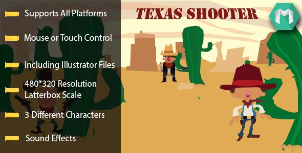 Texas Shooter - CodeCanyon Item for Sale