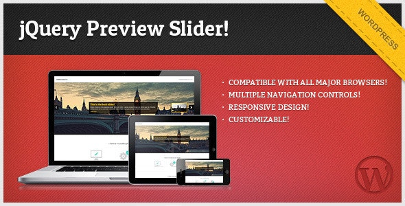 jQuery Preview Slider - for WordPress  - CodeCanyon Item for Sale