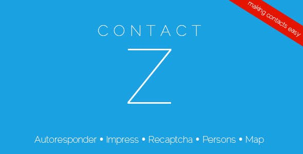 ContactZ - Impress and Contact Form