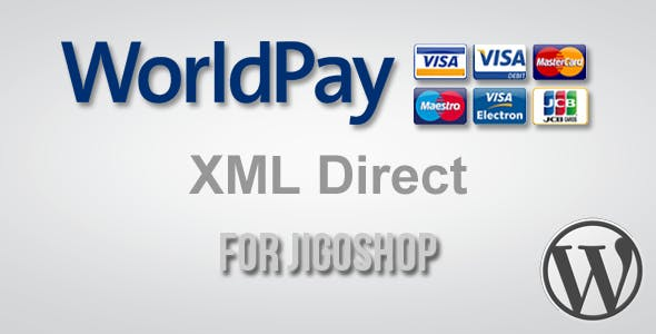 WorldPay XML Direct Gateway for Jigoshop