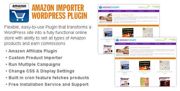 Amazon Importer WordPress Plugin
