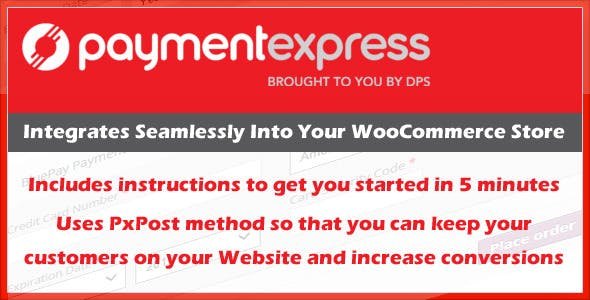 Payment Express PXPost Gateway for WooCommerce