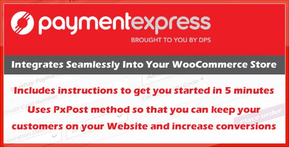 Payment Express PXPost Gateway for WooCommerce - CodeCanyon Item for Sale