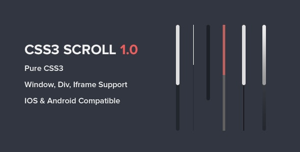 CSS3 Scroll - CodeCanyon Item for Sale