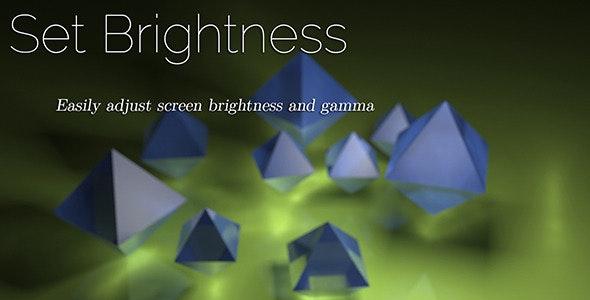 Set Brightness - CodeCanyon Item for Sale