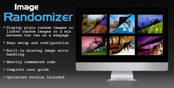 jQuery Image Randomizer v1.0 Plugin - CodeCanyon Item for Sale