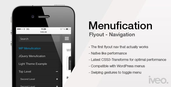 Wordpress Menufication        Nulled
