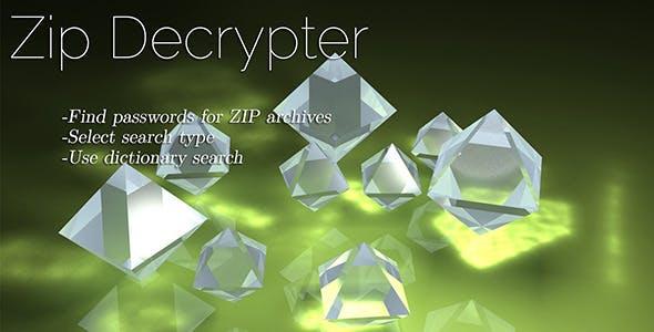 Zip File Decrypter