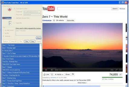 YouTube Favorites Player for Windows - CodeCanyon Item for Sale