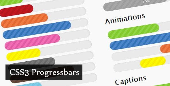 CSS3 Progressbars - CodeCanyon Item for Sale